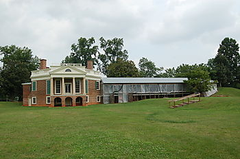 Poplar Forest-with out-buildings restoration
