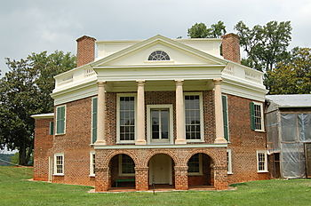 Poplar Forest-rear