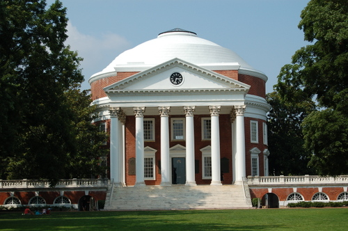 The Rotunda-Based on the Pantheon in Rome