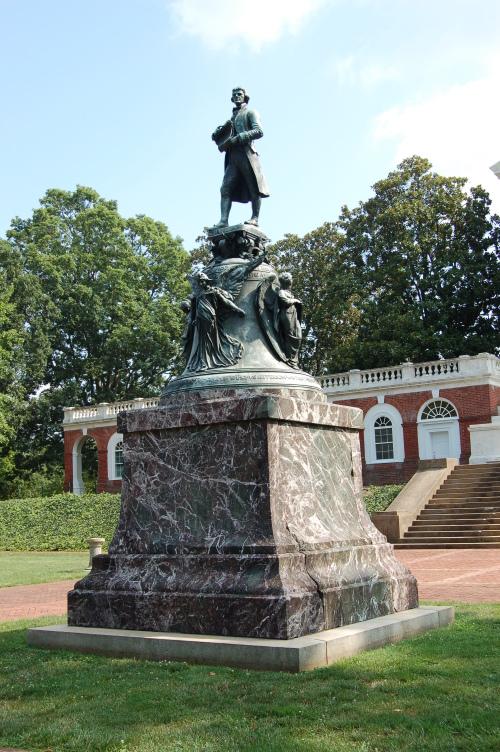 Statue of TJ