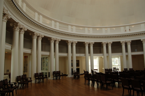 The Dome Room-Library in the Rotunda